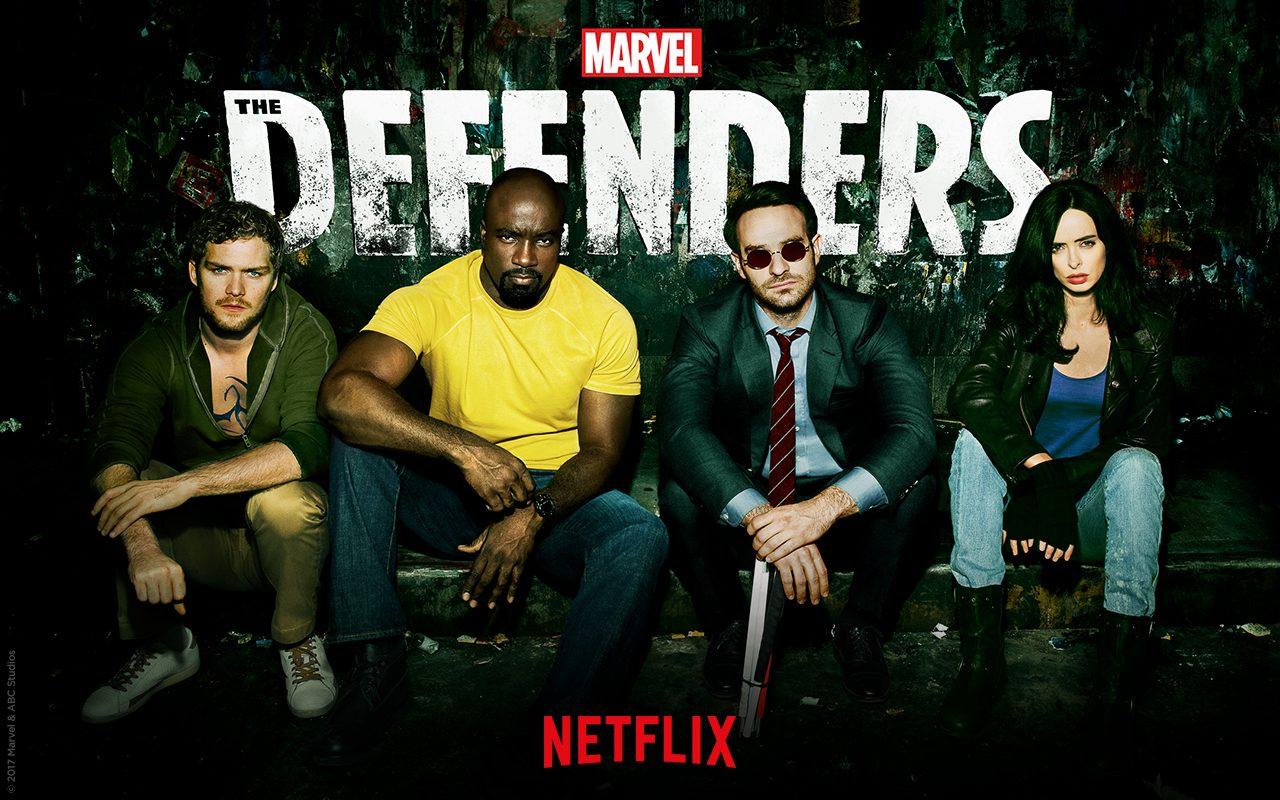Netflix オリジナルのマーベル作品シリーズ